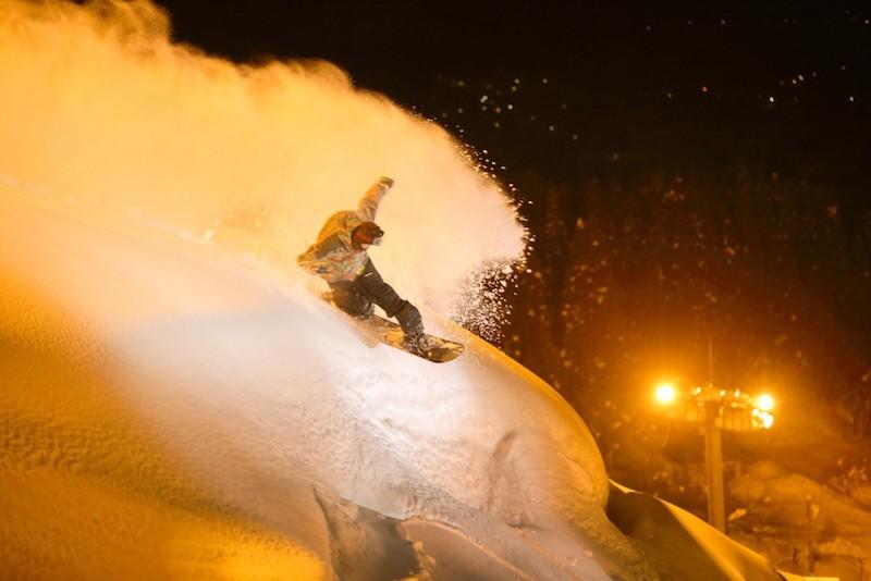 石打丸山スキー場 ナイター