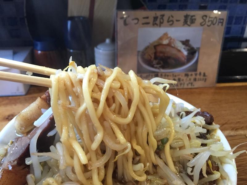 らー麺「羽屋」 てつ二郎らー麺 南魚沼 六日町