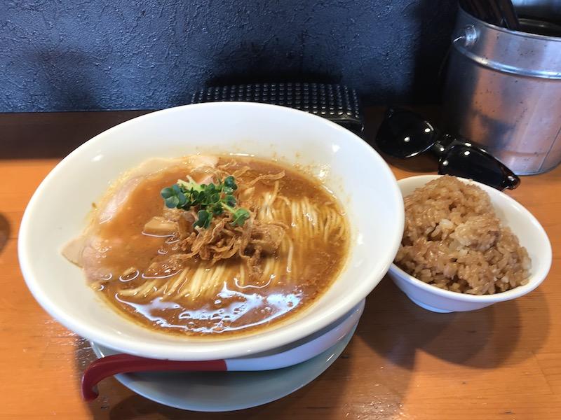 南魚沼 麺処 清水の「生姜みそ」
