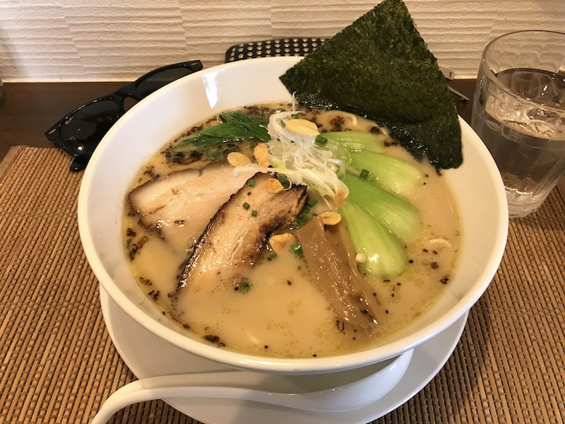 麺屋 奥右衛門 鶏白湯麺