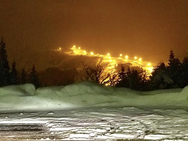 舞子スノーリゾート 石打丸山スキー場 ナイター